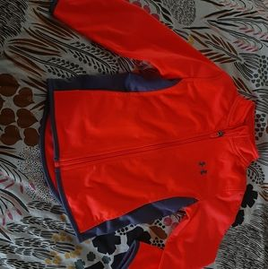 Bright Pink Under Armour Athletic Jacket